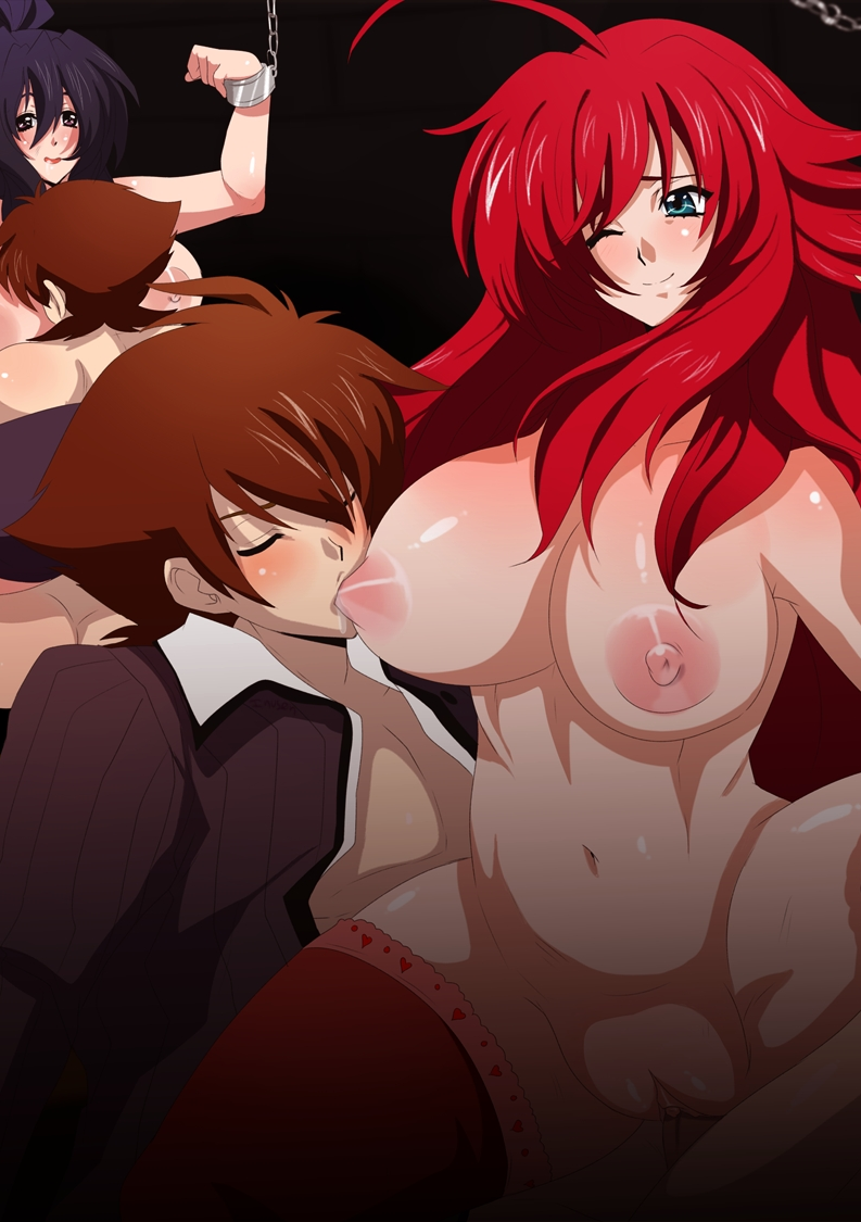 gif and dxd highschool issei rias Eureka seven anemone and dominic