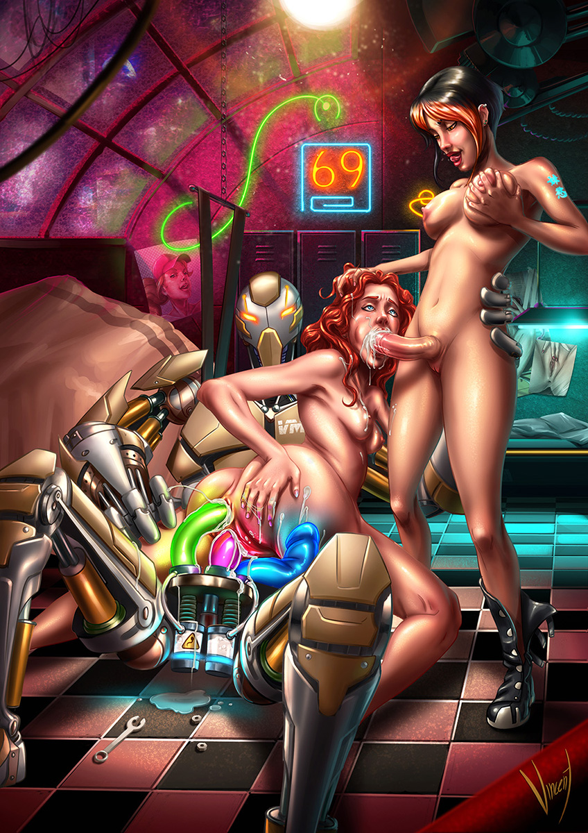 3 nude with woman breasts Va-11 hall-a gillian