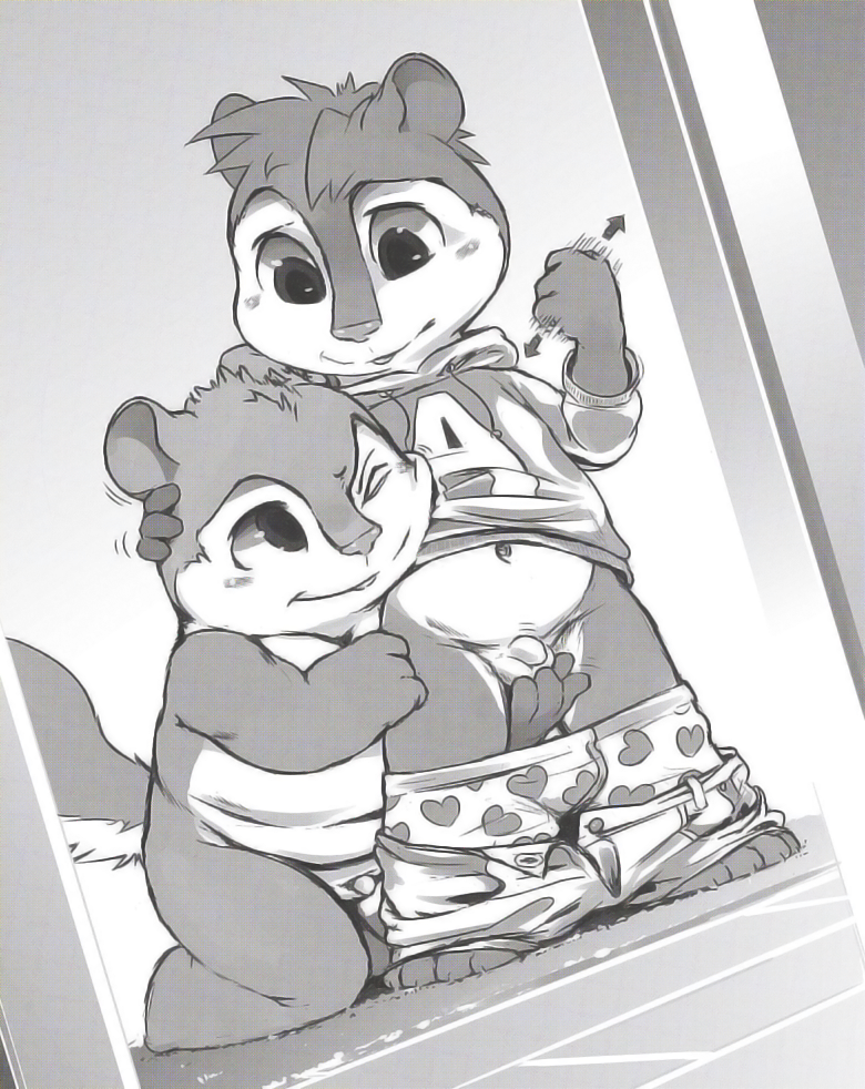 the nude alvin and chipmunks Naruto and fem kiba fanfiction