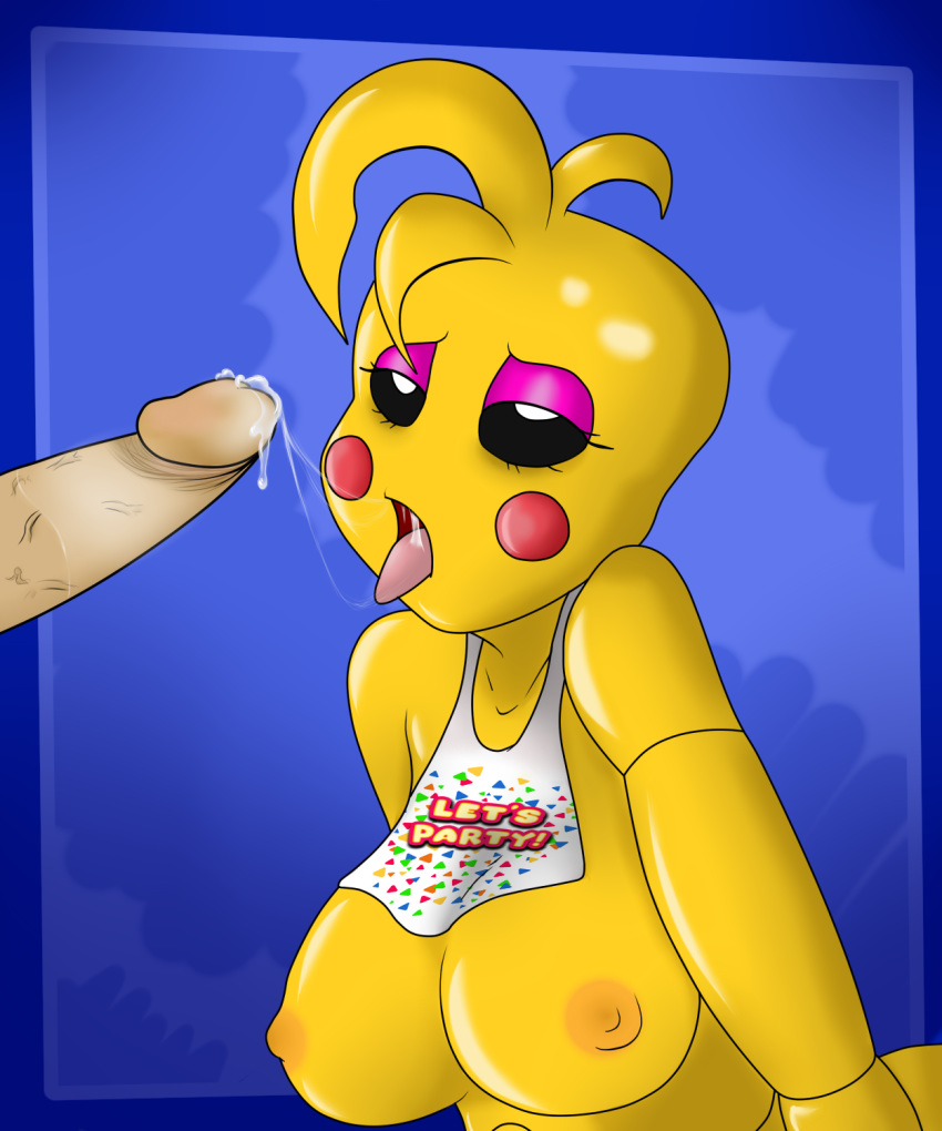 freddy x fnaf toy chica Five nights at freddy's anime pictures