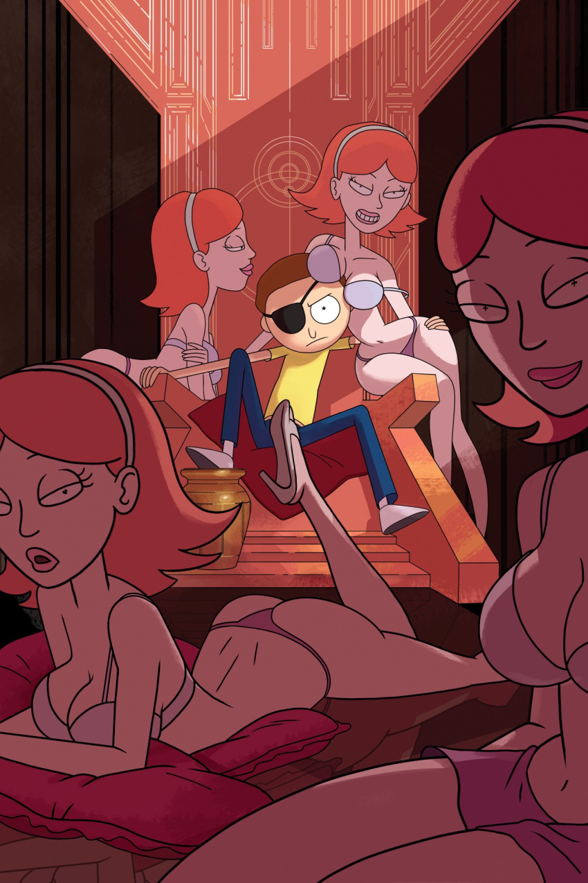 nude and summer smith morty rick Xxx little red riding hood