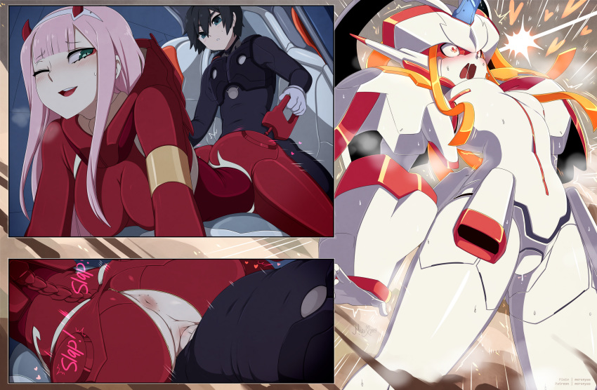 in franxx darling hiro the Witcher 3 witch of lynx crag