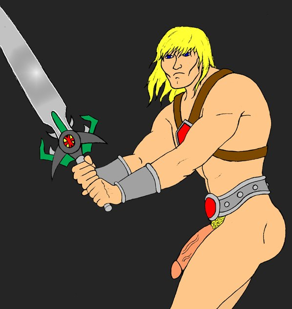he-man Fist of the north star scars